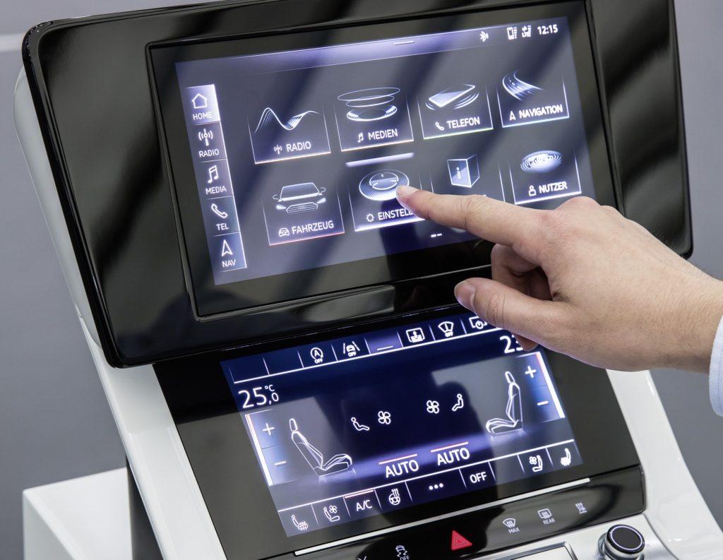 Nuova Audi A7 Sportback MY 2018: l'intero sistema di infotainment è totalmente digitale