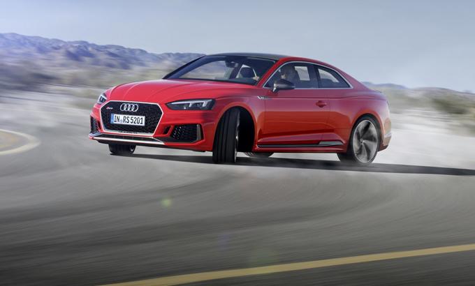 Audi RS5 Coupè: gli pneumatici Hankook Ventus S1 evo2 sulla nuova generazione