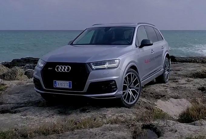 Audi SQ7, il SUV diesel più potente invade le strade della costa pugliese [VIDEO]