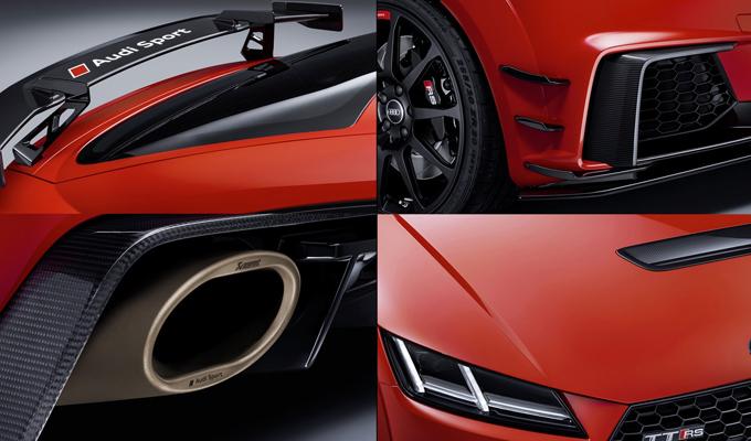 Audi al SEMA Show 2017: presentato un pacchetto Sport Performance Parts per TT RS e R8 [FOTO]