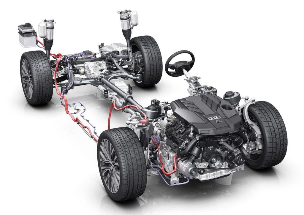 Audi A4 e A5, arriva la motorizzazione mild-hybrid sui propulsori 2.0 TFSI