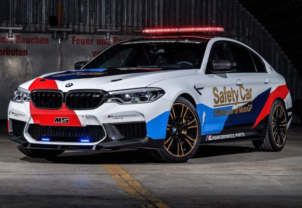 BMW M5 xDrive, la Safety Car della MotoGP