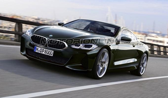 BMW Serie 8: come potrebbero essere le versioni coupé e Cabrio [RENDERING]