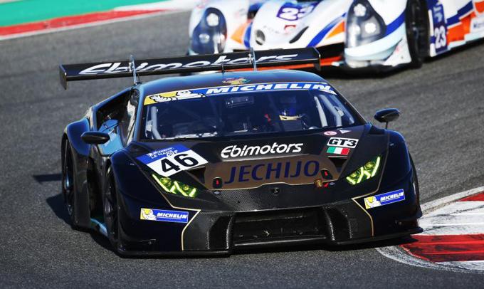 Lamborghini: trionfo nella Michelin Le Mans Cup col team Ebimotors