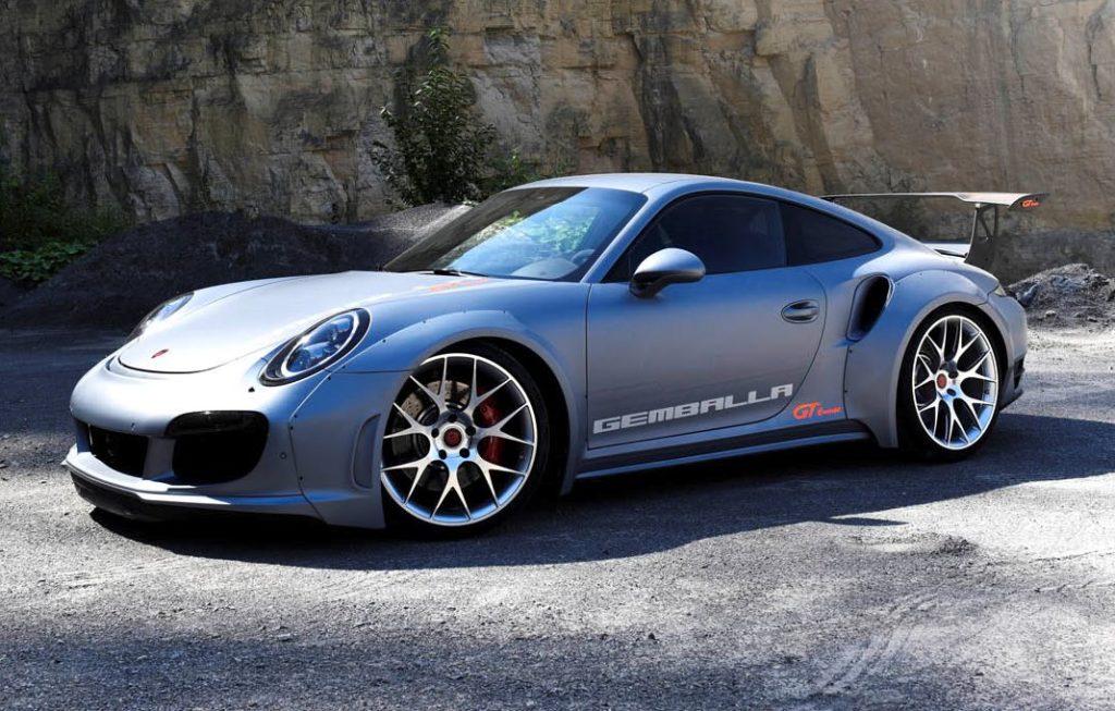 Porsche 911 Turbo pompata fino a 828 CV col tuning di Gemballa [FOTO]