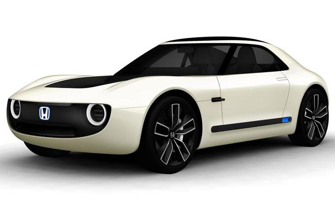 Honda Sports EV Concept al Salone di Tokyo: il prototipo di coupè compatta elettrica [FOTO]