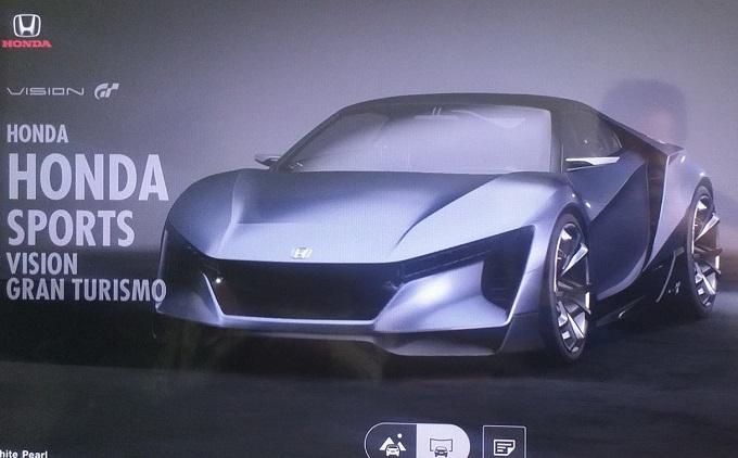 Honda Sports Vision Gran Turismo: FOTO LEAKED della nuova virtual car