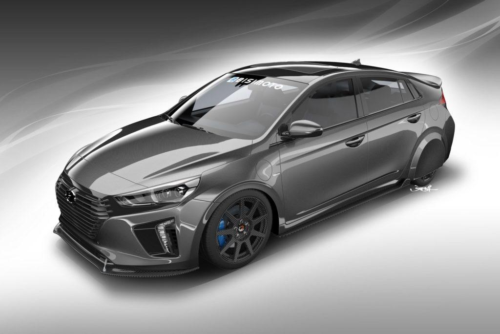 Hyundai HyperEconiq Ioniq, efficienza ai massimi livelli al SEMA di Las Vegas