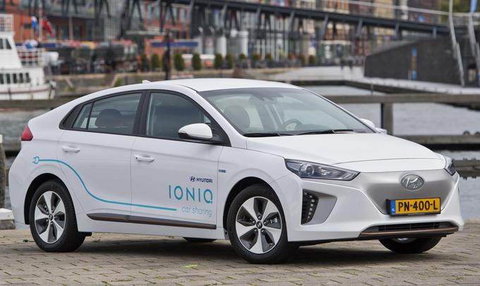 Hyundai: ad Amsterdam il primo car-sharing elettrico