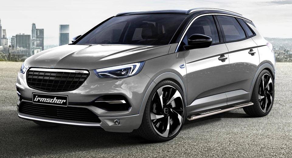 Opel Grandland X: la versione firmata Irmscher