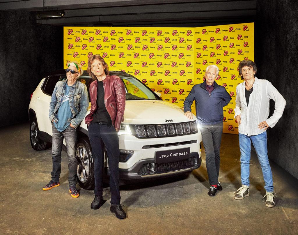 Jeep Compass chiude a Parigi il tour dei Rolling Stones
