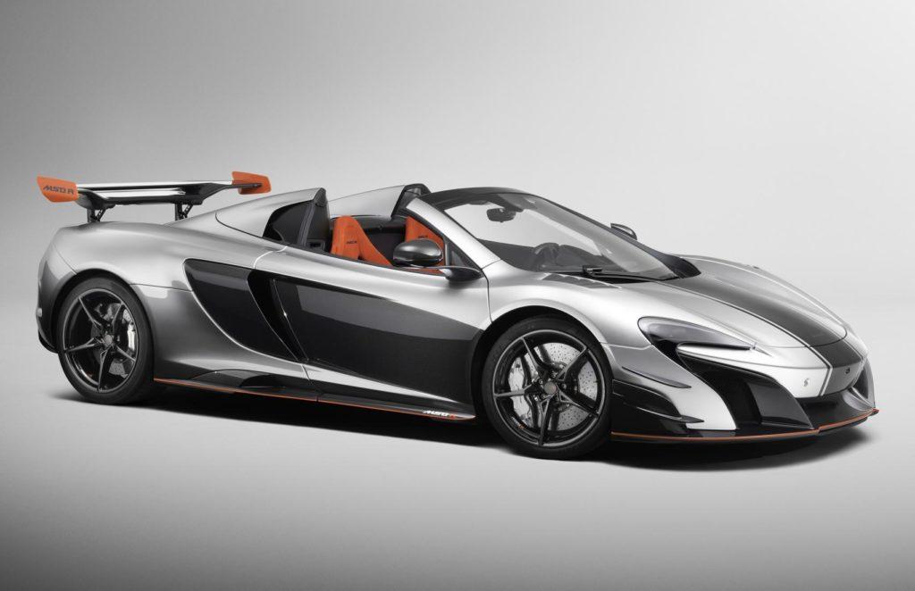 McLaren MSO R Coupe e Spider