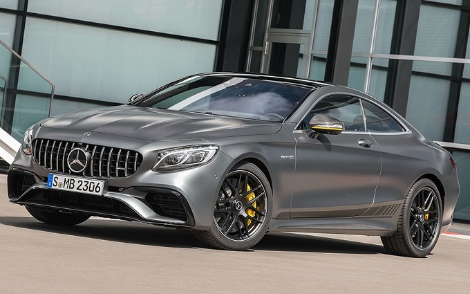 Mercedes-AMG S63 Yellow Night Edition