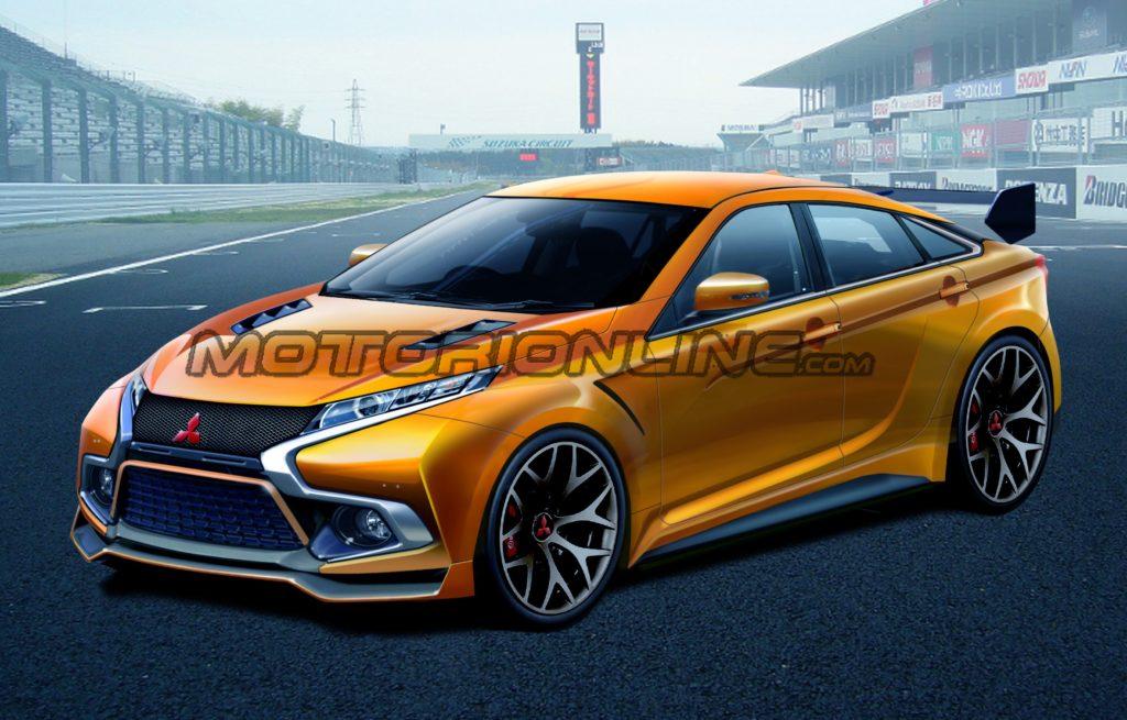 Mitsubishi Lancer EVO, proposta grafica per una nuova erede [RENDERING]