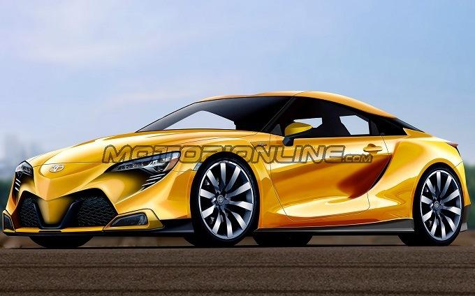 Toyota GT86: un render immagina le forme della nuova generazione [RENDERING]