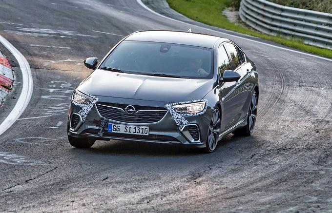 Opel Insignia GSi al Nurburgring
