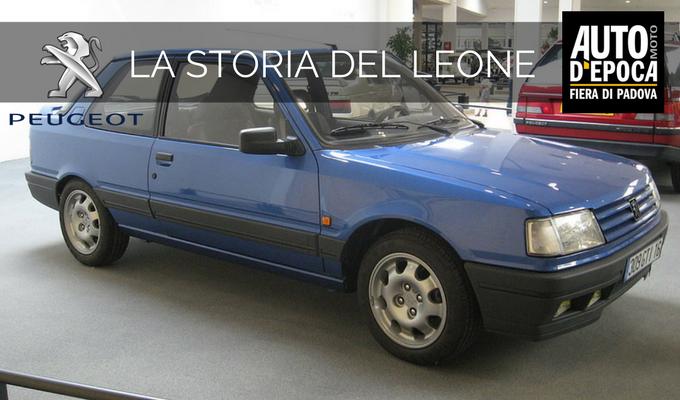 Peugeot 309 GTI, l'auto che fece sbocciare l'amore tra il Leone e Paolo Andreucci