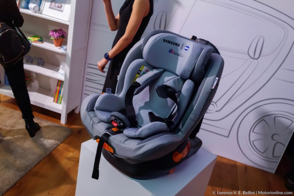 Samsung e Chicco BebèCare, il seggiolino del futuro