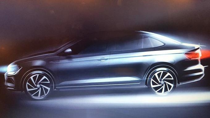 "Volkswagen Virtus: la nuova ""Polo Sedan"" per il Sud America [TEASER]"