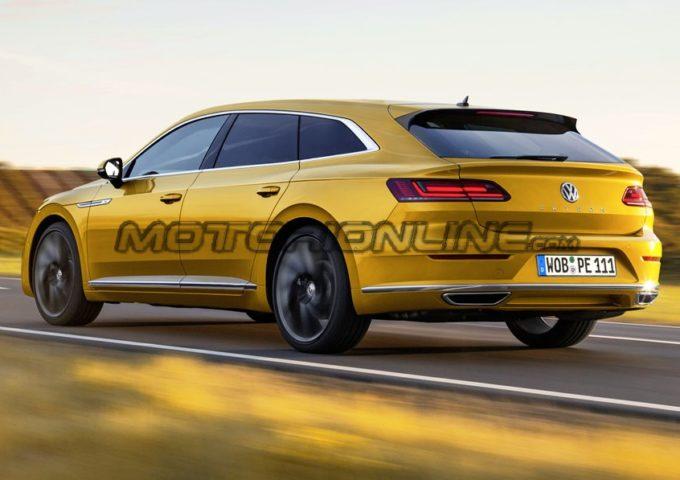 Volkswagen Arteon Shooting Brake: l'ipotesi di variante con spaziosità aggiuntiva [RENDERING]
