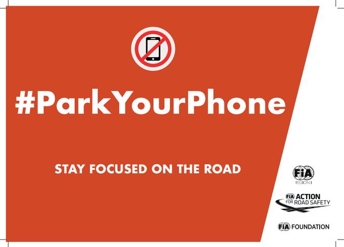 """ACI partecipa alla campagna FIA """"#ParkYourPhone"""""""