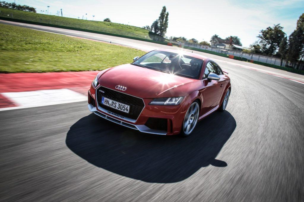 Audi TT RS, RS3 e RS5: i tre volti della sportività [SPECIALE VIDEO TEST SU PISTA]