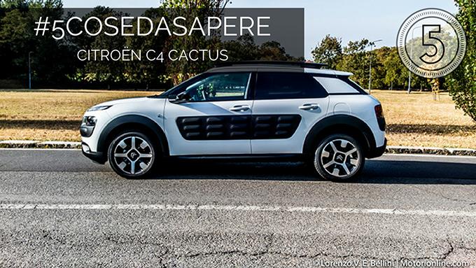 Citroen C4 Cactus: equilibrio al volante [#5COSEDASAPERE – EPISODIO 5, LA GUIDA]