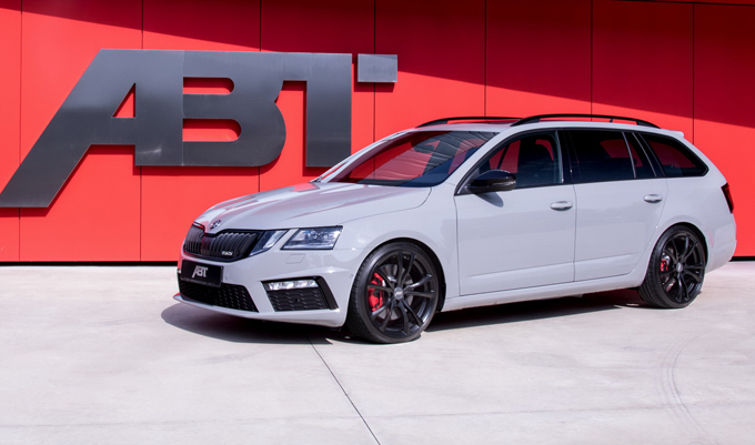 skoda octavia rs 315 cv col tuning di abt sportsline foto. Black Bedroom Furniture Sets. Home Design Ideas