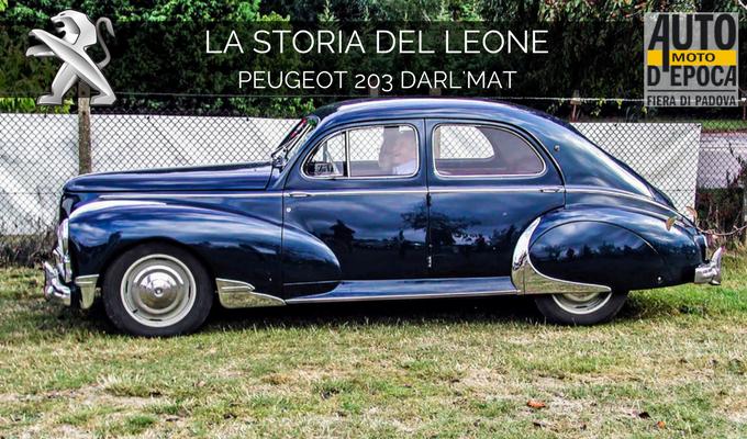 Peugeot 203 Darl'Mat, apripista di un viaggio nel tempo nella tradizione del Leone