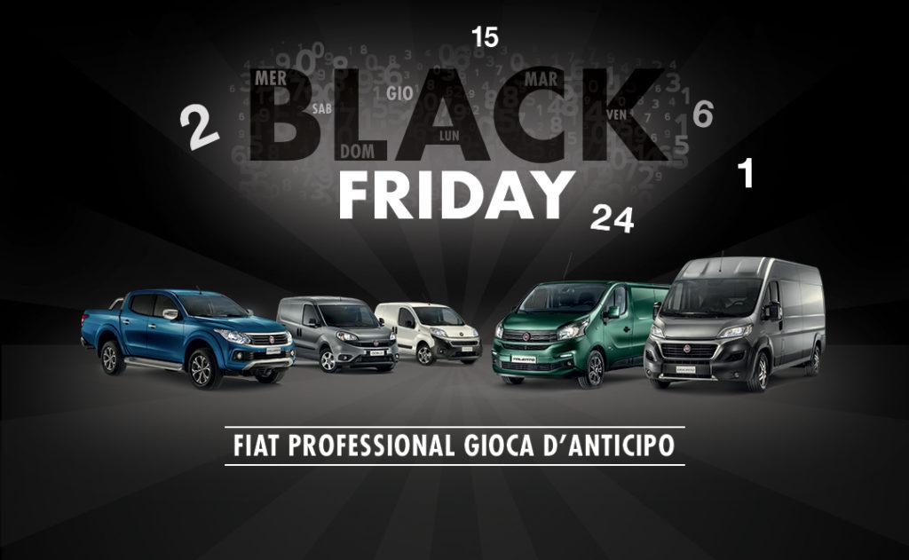 Fiat Professional celebra il Black Friday con l'estensione di garanzia in omaggio