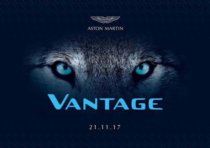 Aston Martin Vantage: la nuova generazione debutterà il 21 novembre [TEASER]