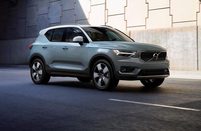 Volvo XC40: il SUV compatto si mostrerà al pubblico di Los Angeles