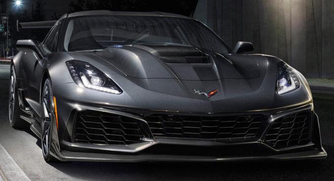 Nuova Chevrolet Corvette ZR1 2019
