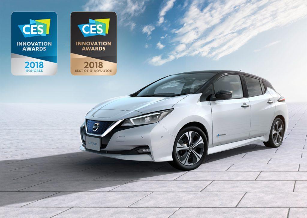 Nissan LEAF: il nuovo modello vince il primo premio internazionale