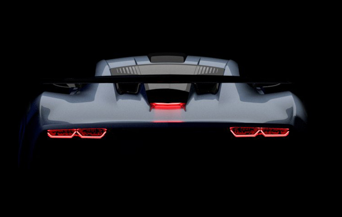 Aria FXE: misterioso veicolo al Salone di Los Angeles [TEASER]