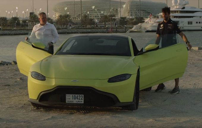 Nuova Aston Martin Vantage: cosa ne pensano i piloti di Formula 1? [VIDEO]