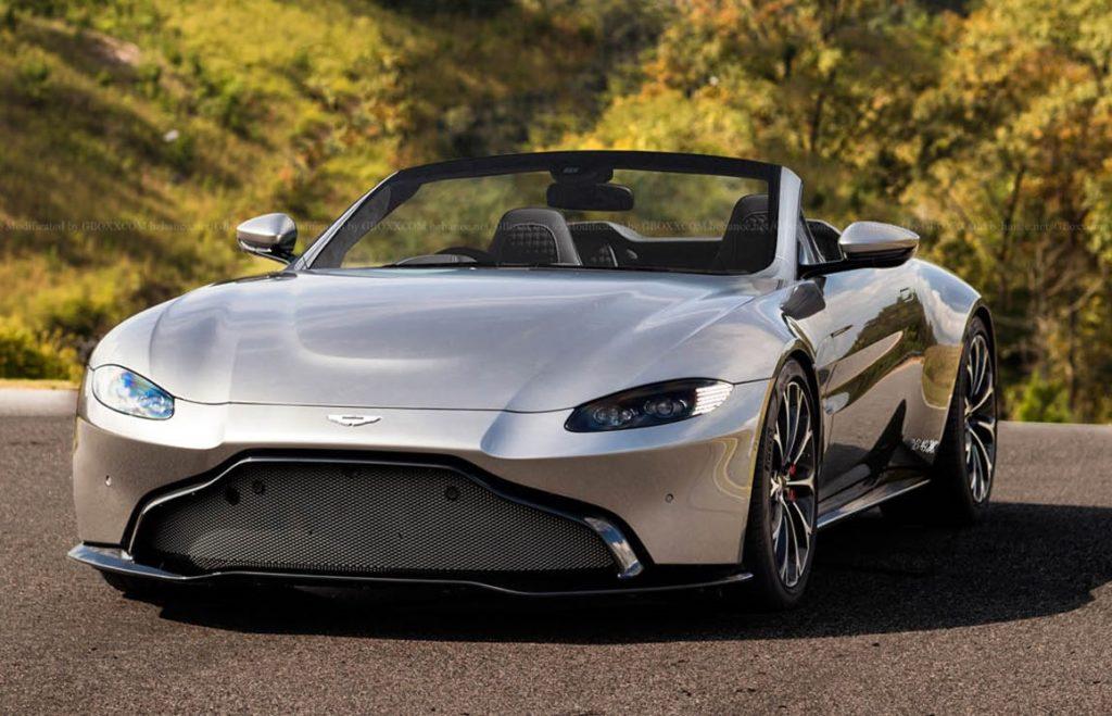 Aston Martin Vantage Roadster: ecco come potrebbe essere il nuovo modello [RENDERING]