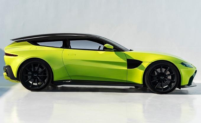 Aston Martin Vantage Shooting Brake: RENDERING votato alla praticità