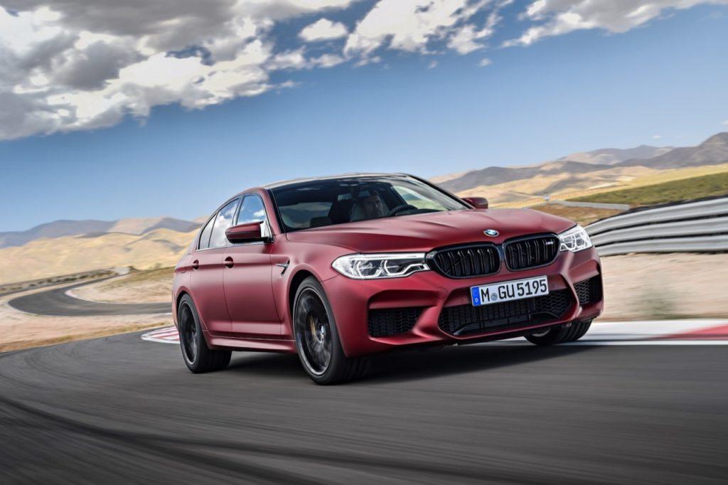 Nuova BMW M5: in origine si pensò alla sola trazione posteriore