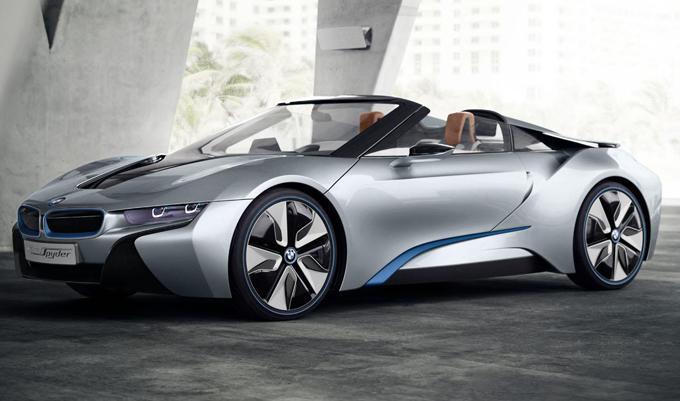 BMW i8 Roadster: la nuova open air debutterà al Salone di Los Angeles