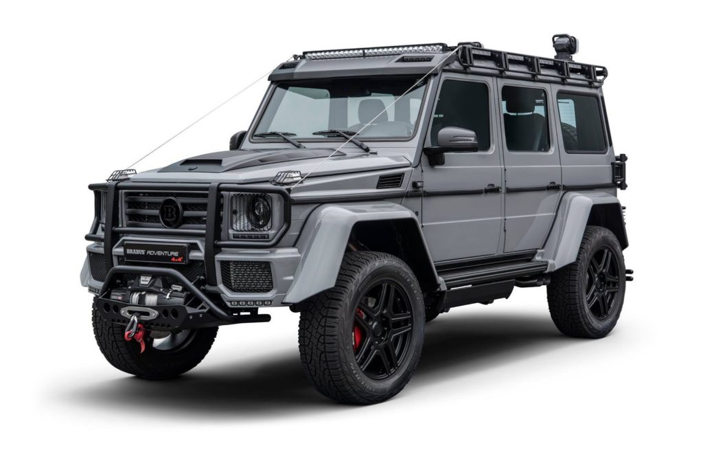 brabus g 550 adventure 4 4 nuove immagini del tuning. Black Bedroom Furniture Sets. Home Design Ideas