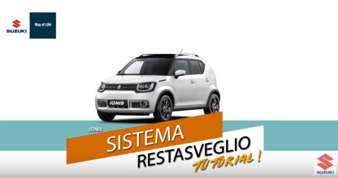 """Suzuki IGNIS: come funziona il sistema """"restasveglio""""? [VIDEO]"""