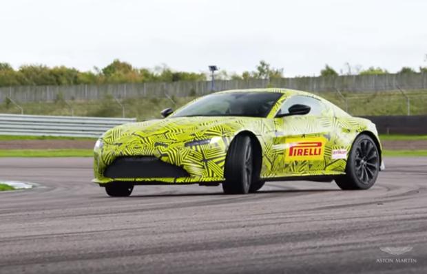 Aston Martin Vantage: Max Verstappen ne anticipa alcune peculiarità [VIDEO]