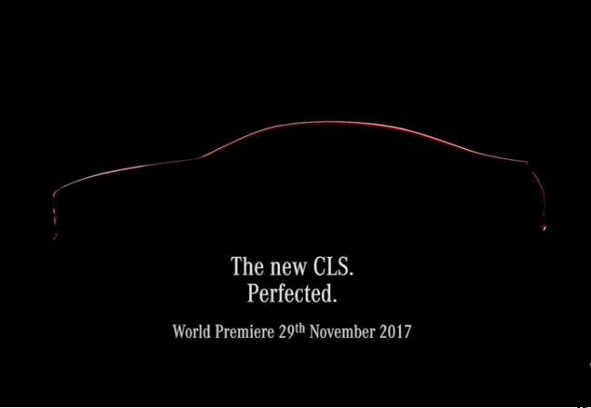 Mercedes CLS MY 2018: un inedito filmato ne anticipa i dettagli di stile [VIDEO TEASER]