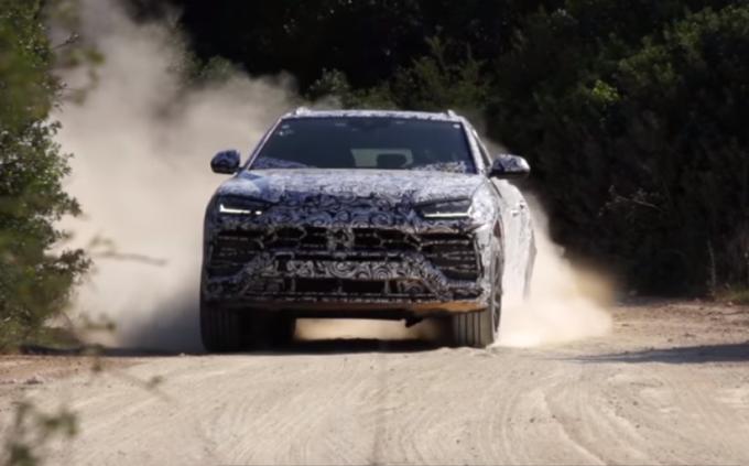 Lamborghini Urus: l'anima di una super sportiva in un corpo da Suv [VIDEO TEASER]