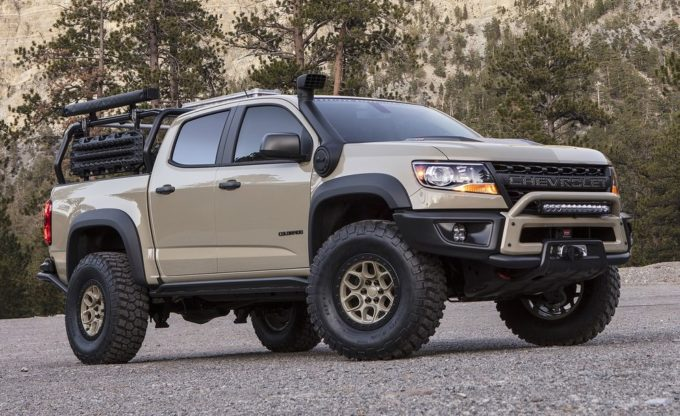 Chevrolet Colorado ZR2 AEV Concept: al SEMA 2017 un off-road d'assalto [FOTO e VIDEO]