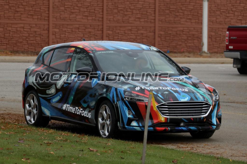 Ford Focus: la nuova generazione è senza veli [FOTO SPIA]