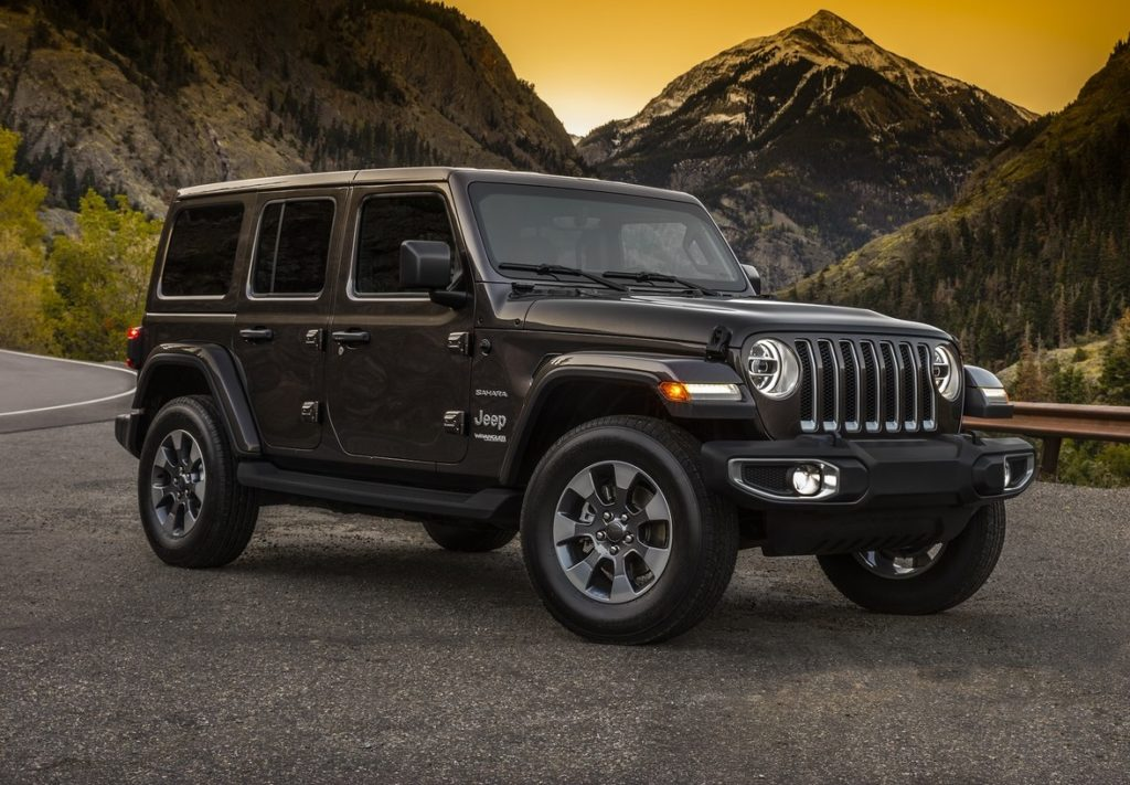 Jeep Wrangler MY 2018 ecco la prima immagine del nuovo modello