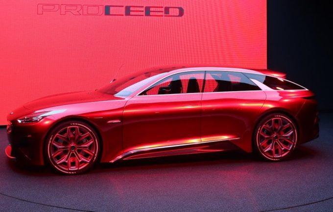 Kia Proceed Concept: il modello di serie è atteso a fine 2018