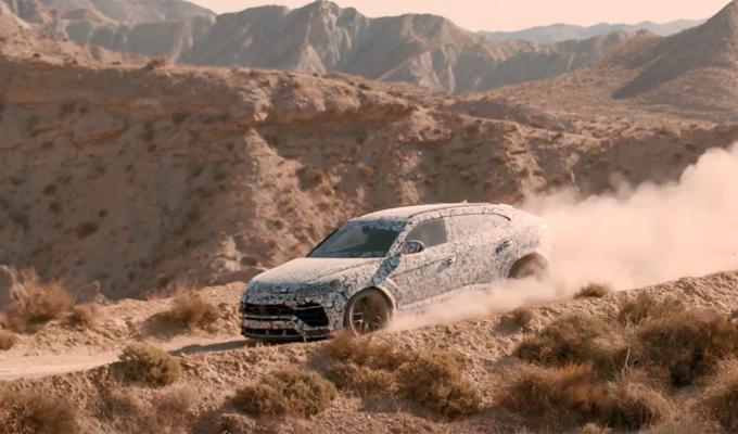 Lamborghini Urus: una scarica di potenza su ogni percorso [VIDEO ANTEPRIMA]